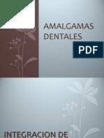 AMALGAMAS DENTALES