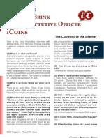 Adriaan Brink, CEO iCoins