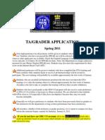 Ta and Grader Application