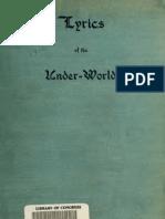 Samuel Alfred Beadle--Lyrics of the Under World (1912)