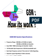 How GSM Works