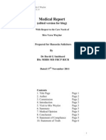 Dr Smithard Report 17 11 11