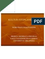 KULTUR FITOPLANKTON