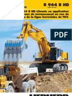 Rapport d'Exploitation R 964 B HD La Pelle R