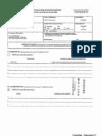 Salvador E Casellas Financial Disclosure Report for 2009