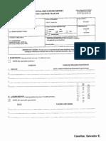 Salvador E Casellas Financial Disclosure Report for 2010