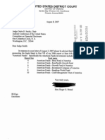 Roger G Strand Financial Disclosure Report for 2006