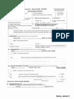 James V Selna Financial Disclosure Report for 2010