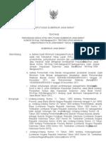 Keputusan Gubernur Jawa Barat