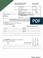 David C Norton Financial Disclosure Report for 2010