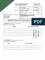 Federico A Moreno Financial Disclosure Report for 2006