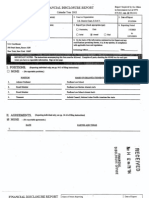 Denny Chin Financial Disclosure Report for 2003