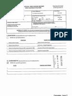Irma E Gonzalez Financial Disclosure Report for 2009