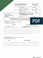 Leonard I Garth Financial Disclosure Report for 2009