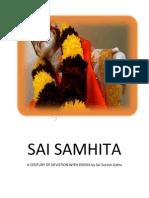 SAI SAMHITA by Sai Suresh Gattu