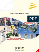 Totem Catalogue 2012 power quality and safety security