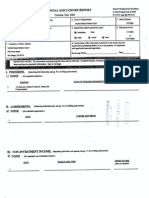 Gordon Thompson Financial Disclosure Report for 2003