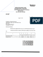 Lewis A Kaplan Financial Disclosure Report for 2009