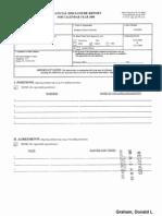 Donald L Graham Financial Disclosure Report for 2008