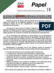 Papel 18 Información Negociación