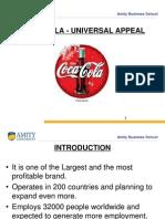 Coca Cola Universal Appeal