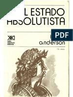 Anderson, Perry - El Estado Absolutist A