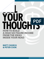 Church, Sell Your Thoughts