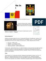 Prima vizita în Moldova