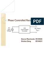 Phase Controlled Rectifiers