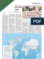 A Durban, la société civile porte la voix africaine (3 décembre 2011, Le Monde)