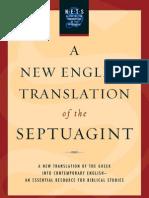 A NEW ENGLISH TRANSLATION OF THE SEPTUAGINT - الترجمة الإنجليزية الحديثة للنسخة السبعينية
