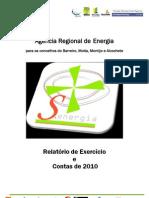 Relatorio Exercicio Contas 2010 Senergia
