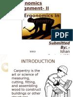 Ergonomics in Carpentry