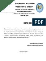 Informe Modular I 2011