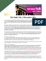 COP17 Daily Tck 5 2/Dec