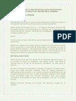 Aplicacion de La Metodologia Pacie en Procesos Institucionales de Incursion Elearning