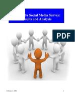 2009 AMA Social Media Survey