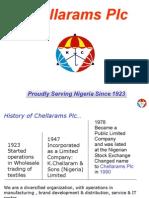 Chellarams Plc Corporate Profile