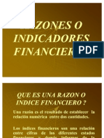 Razones o Indicadores Financieros(Diapositivas