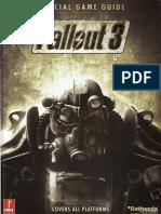 Fallout 3 Prima Guide
