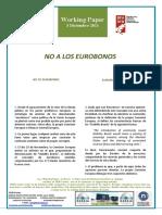 NO A LOS EUROBONOS - NO TO EUROBONDS (Spanish) - EUROBONUEI EZ (Espainieraz)