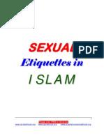 Islamic Sexual Etiquettes