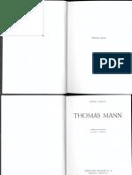 Lukacs. Thomas Mann