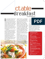 Food and Nightlife Magazine - Sep 2011 - 12/Delectable Breakfast