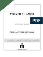 VOLVER AL AMOR (Marianne Williamson)