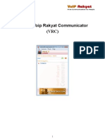 Manual VoIP Rakyat Comunicator (VRC)