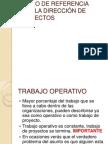 01 MARCO DE REFERENCIA PARA LA DIRECCIÓN DE PROYECTOS