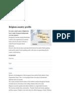 Belgium Country Profile