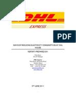 Power Saving Initiatives_DHL Express