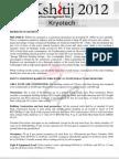 Kryotech Problem Statement